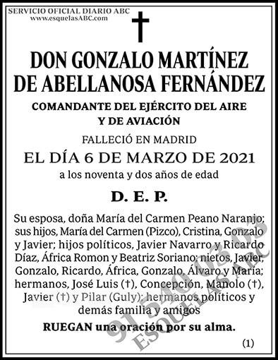 Gonzalo Martínez de Abellanosa Fernández