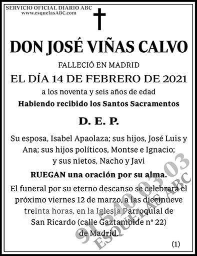 José Viñas Calvo