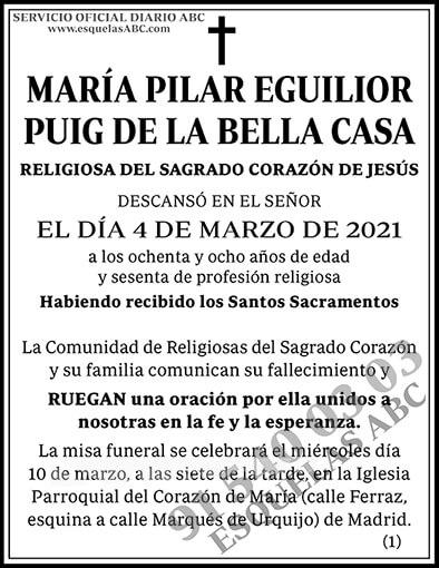María Pilar Eguilior Puig de la Bella Casa