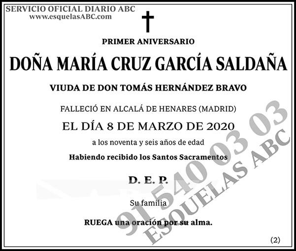 María Cruz García Saldaña