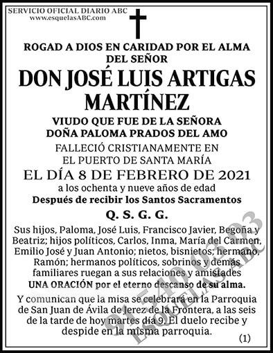 José Luis Artigas Martínez