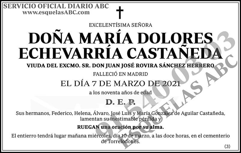 María Dolores Echevarría Castañeda