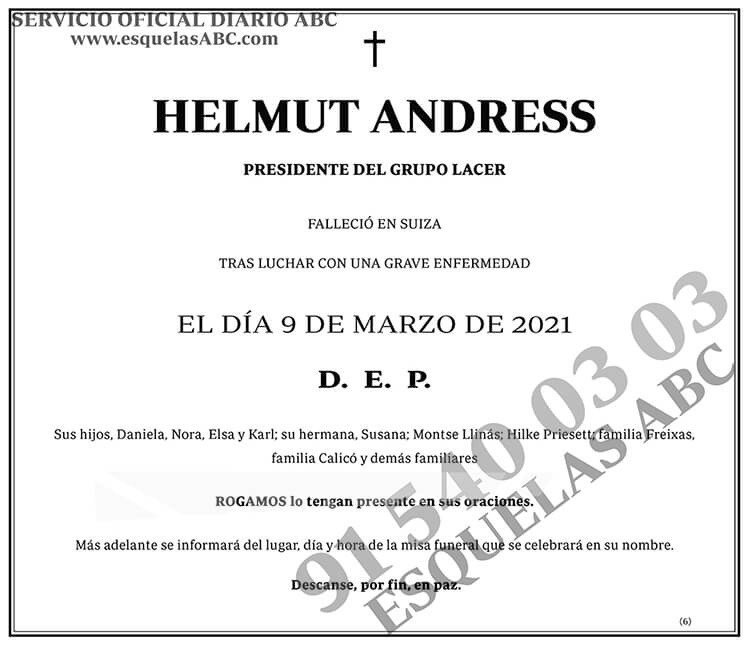 Helmut Andress