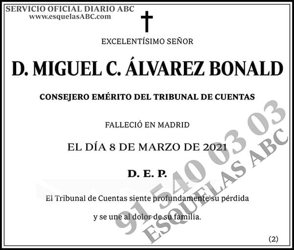 Miguel C. Álvarez Bonald