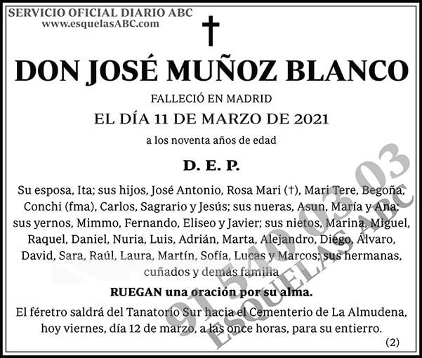 José Muñoz Blanco