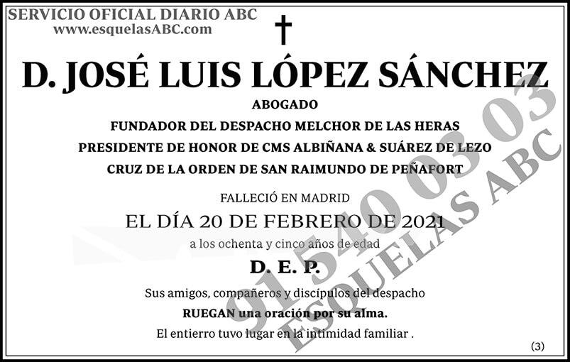 José Luis López Sánchez