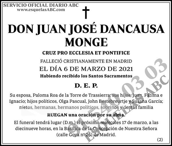 Juan José Dancausa Monge