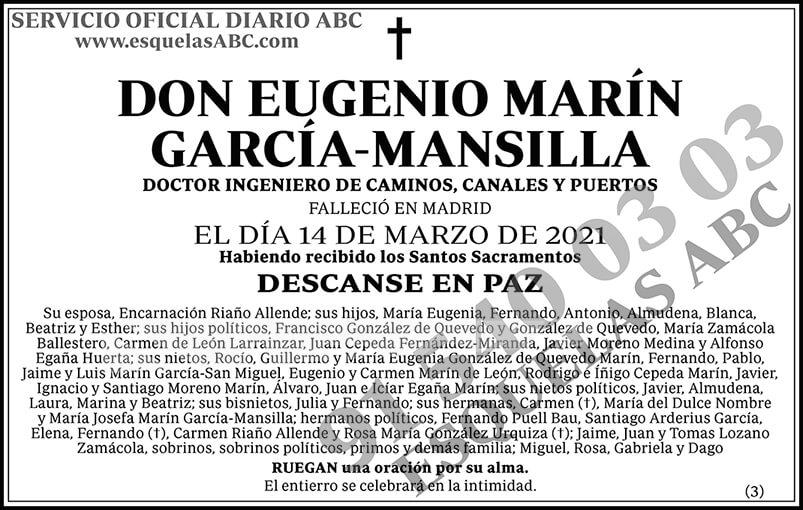 Eugenio Marín García-Mansilla