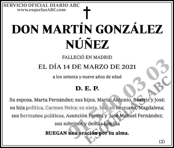Martín González Núñez
