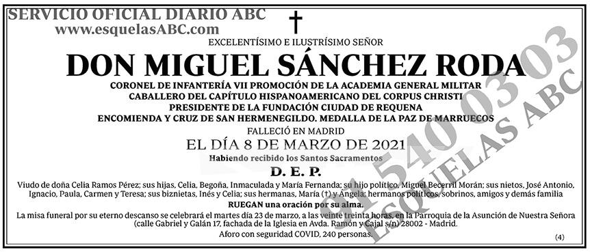 Miguel Sánchez Roda