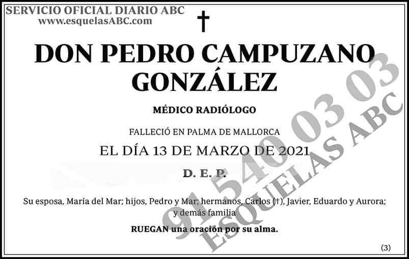 Pedro Campuzano González
