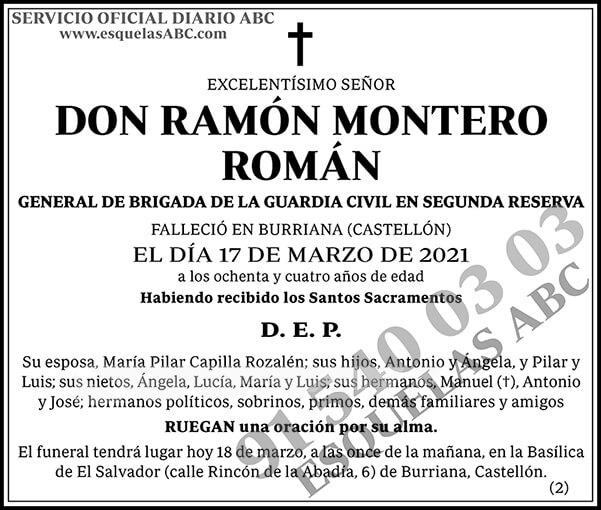 Ramón Montero Román