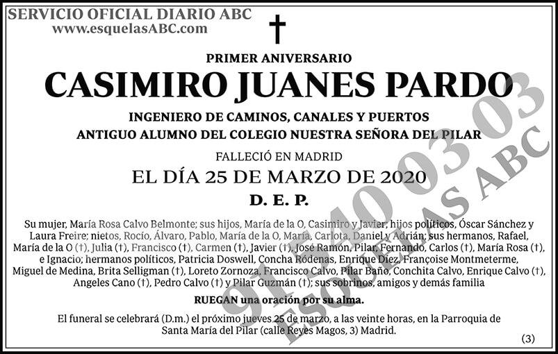 Casimiro Juanes Pardo