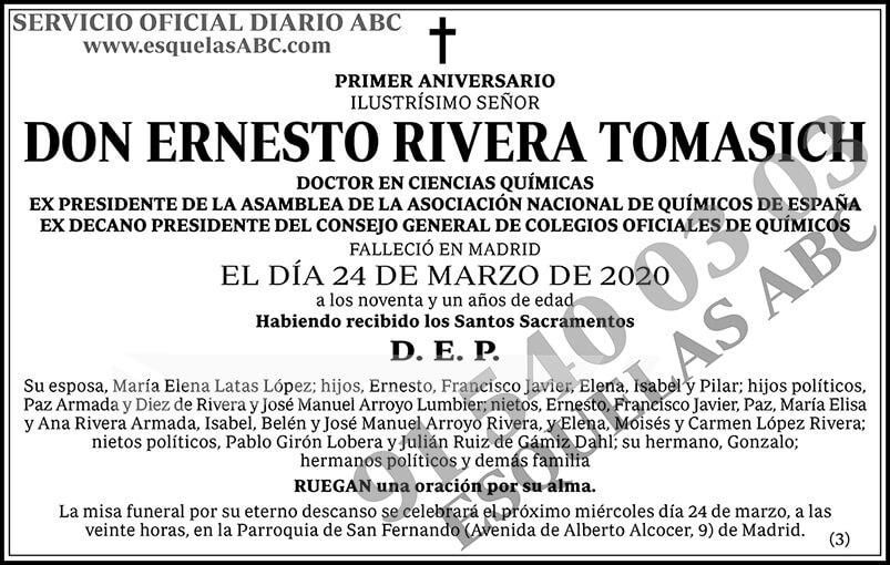 Ernesto Rivera Tomasich