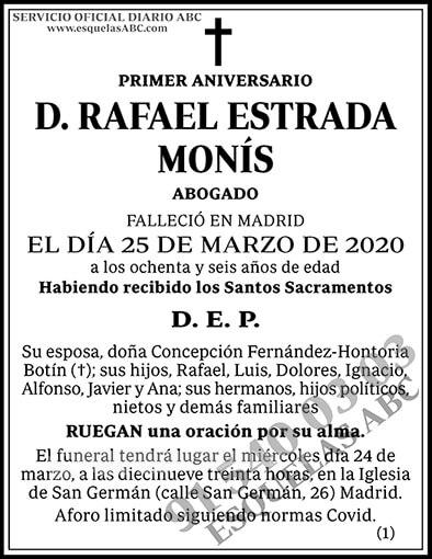Rafael Estrada Monís