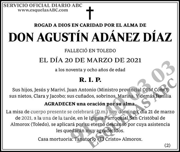 Agustín Adánez Díaz