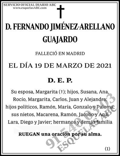 Fernando Jiménez-Arellano Guajardo