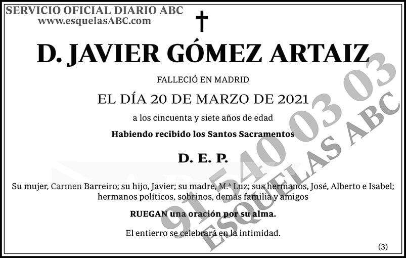 Javier Gómez Artaiz