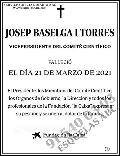 Josep Baselga I Torres