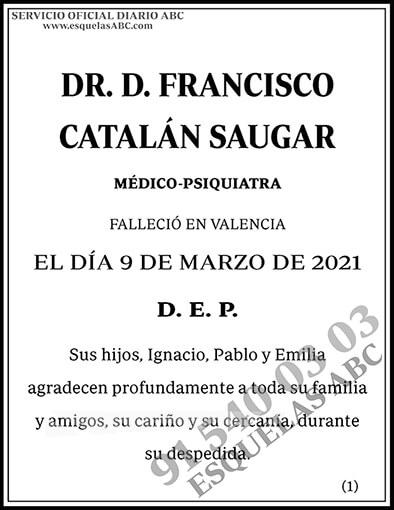 Francisco Catalán Saugar