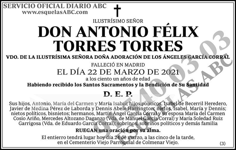 Antonio Félix Torres Torres