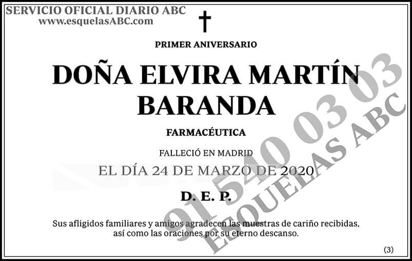 Elvira Martín Baranda
