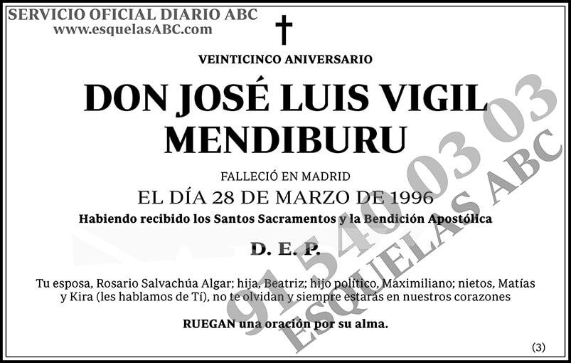 José Luis Vigil Mendiburu