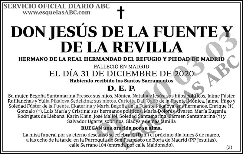 Jesús de la Fuente y de la Revilla