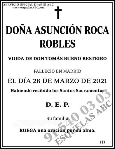 Asunción Roca Robles