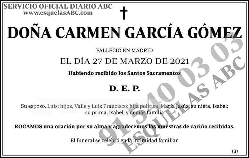 Carmen García Gómez