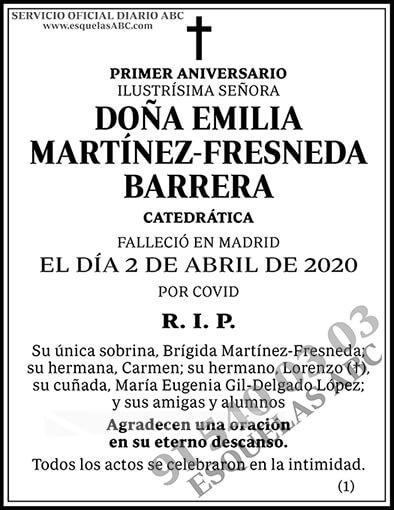 Emilia Martínez-Fresneda Barrera