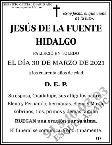 Jesús de la Fuente Hidalgo | ESQUELAS ABC