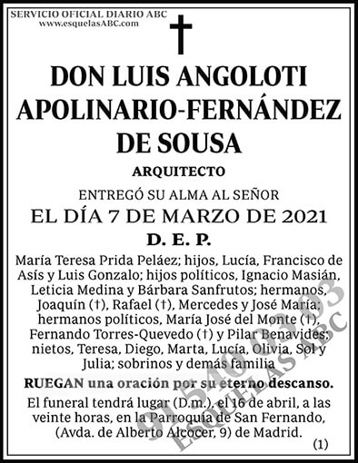 Luis Angoloti Apolinario-Fernández de Sousa