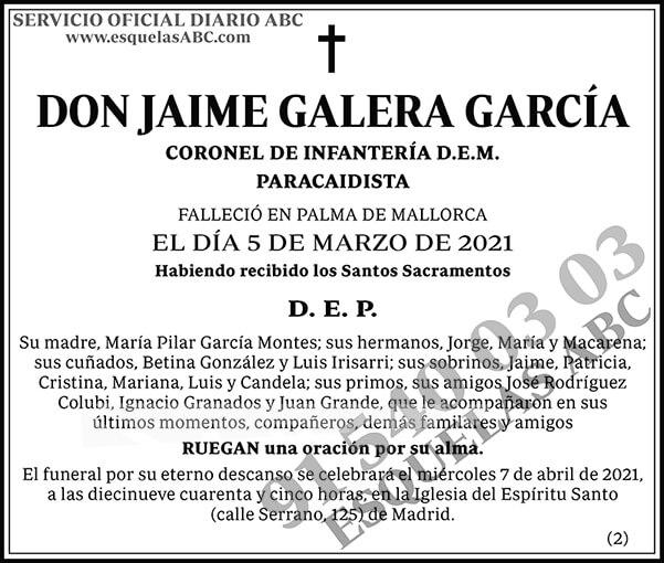 Jaime Galera García