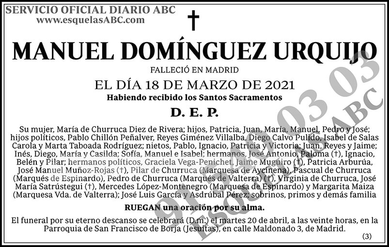 Manuel Domínguez Urquijo