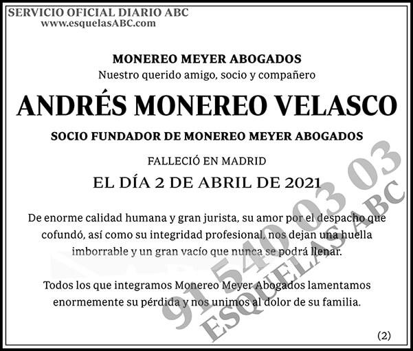 Andrés Monereo Velasco