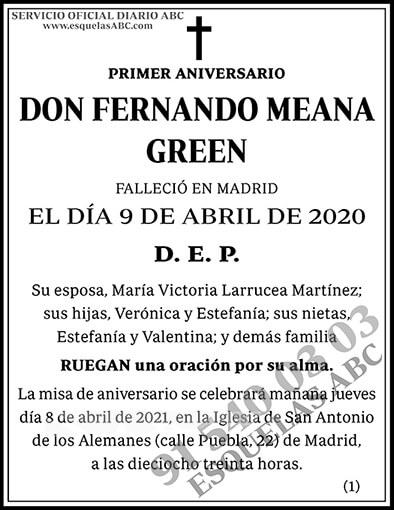 Fernando Meana Green