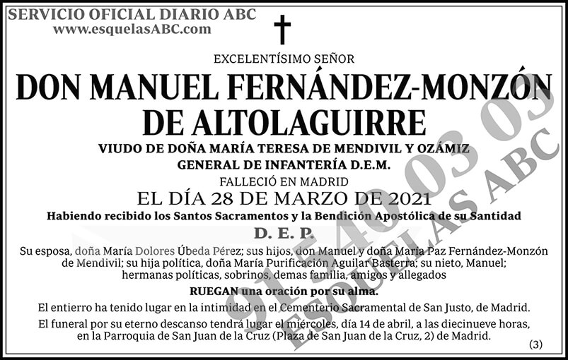 Manuel Fernández-Monzón de Altolaguirre