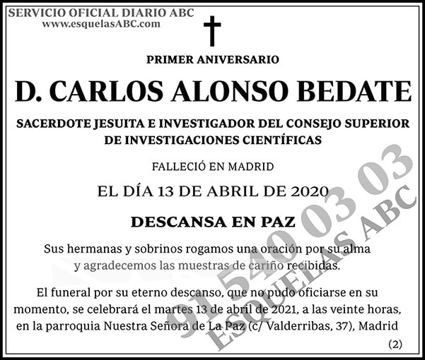Carlos Alonso Bedate