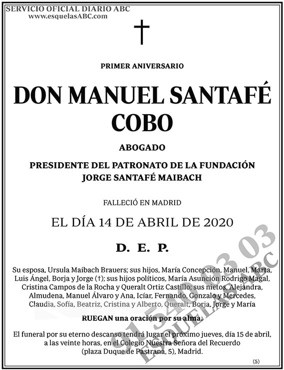Manuel Santafé Cobo