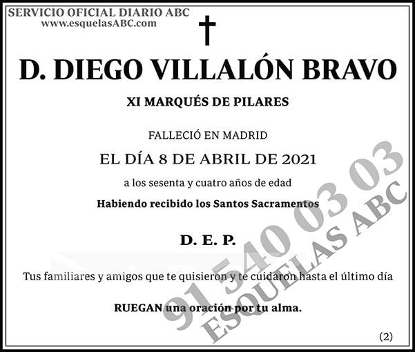 Diego Villalón Bravo
