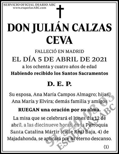 Julián Calzas Ceva