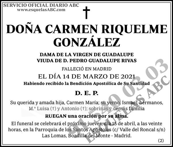 Carmen Riquelme González