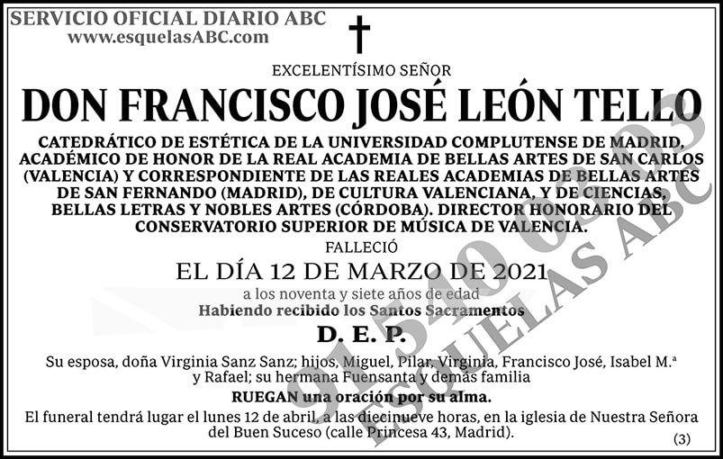Francisco José León Tello