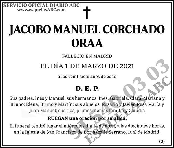 Jacobo Manuel Corchado Oraa