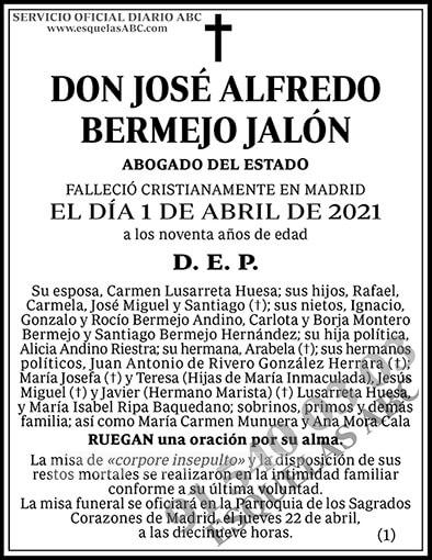 José Alfredo Bermejo Jalón