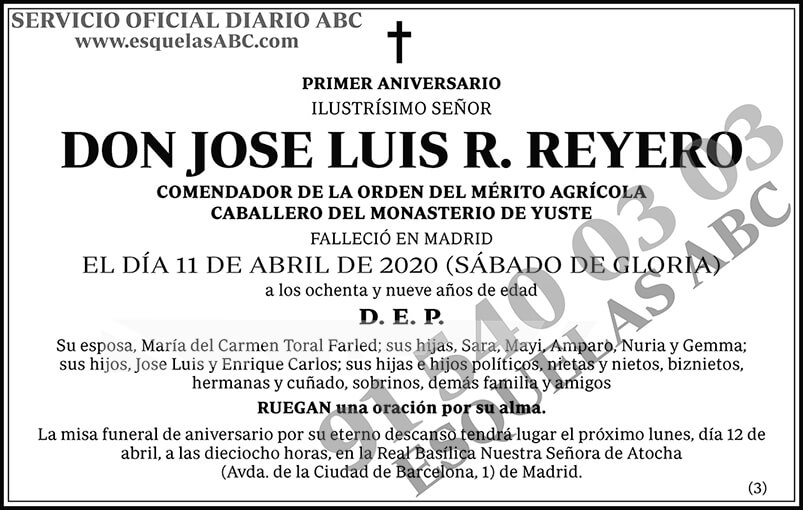 Jose Luis R. Reyero