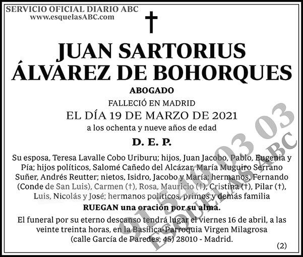 Juan Sartorius Álvarez de Bohorques
