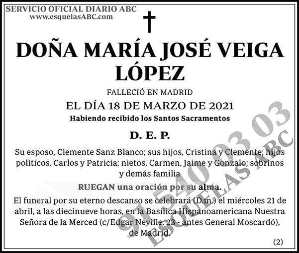 María José Veiga López