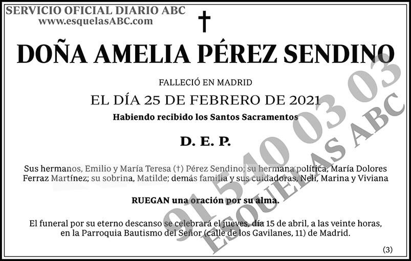 Amelia Pérez Sendino